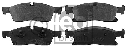 Kit de plaquettes de frein, frein à disque - FEBI BILSTEIN - 16900