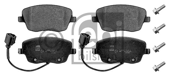 Kit de plaquettes de frein, frein à disque - FEBI BILSTEIN - 16998