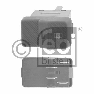 Interrupteur, chauffage de vitre arrière - FEBI BILSTEIN - 17002