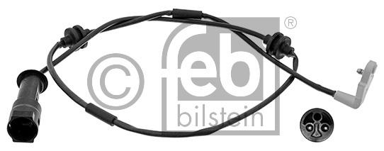 Contact d'avertissement, usure des garnitures de frein - FEBI BILSTEIN - 17204