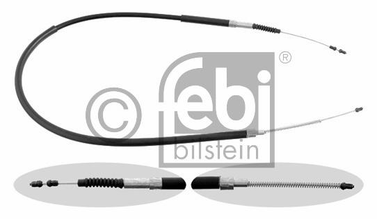 Tirette à câble, frein de stationnement - FEBI BILSTEIN - 17281