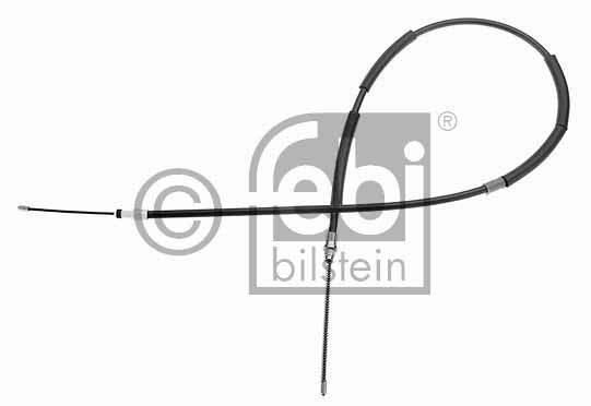 Tirette à câble, frein de stationnement - FEBI BILSTEIN - 17905