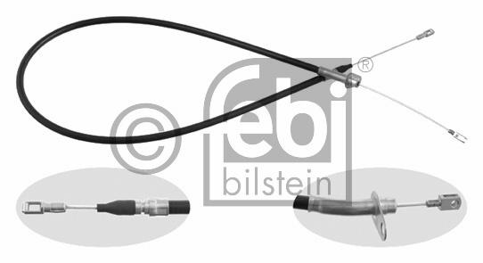 Tirette à câble, frein de stationnement - FEBI BILSTEIN - 18115