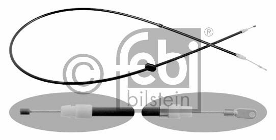 Tirette à câble, frein de stationnement - FEBI BILSTEIN - 18119