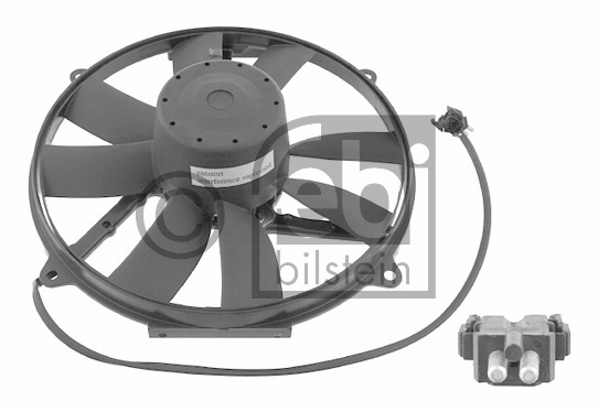 Ventilateur, condenseur de climatisation - FEBI BILSTEIN - 18929