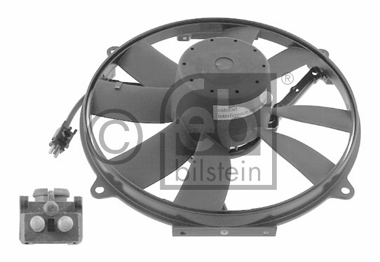 Ventilateur, condenseur de climatisation - FEBI BILSTEIN - 18930