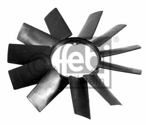 Roue du souffleur, refroidissement  du moteur - FEBI BILSTEIN - 19257
