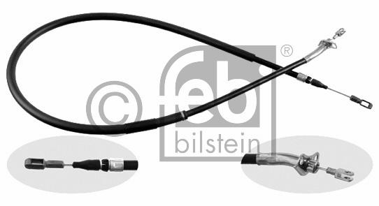 Tirette à câble, frein de stationnement - FEBI BILSTEIN - 21263