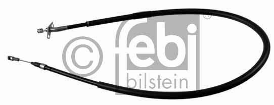 Tirette à câble, frein de stationnement - FEBI BILSTEIN - 21265