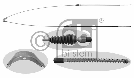 Tirette à câble, frein de stationnement - FEBI BILSTEIN - 21328