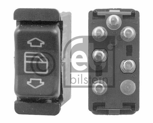 Interrupteur, lève-vitre - FEBI BILSTEIN - 21412