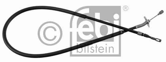 Tirette à câble, frein de stationnement - FEBI BILSTEIN - 21562