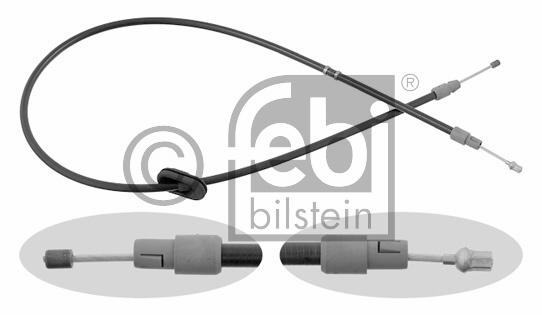 Tirette à câble, frein de stationnement - FEBI BILSTEIN - 22319