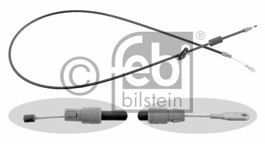 Tirette à câble, frein de stationnement - FEBI BILSTEIN - 22322