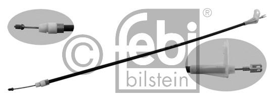 Tirette à câble, frein de stationnement - FEBI BILSTEIN - 22675