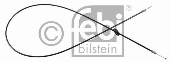 Tirette à câble, frein de stationnement - FEBI BILSTEIN - 22676