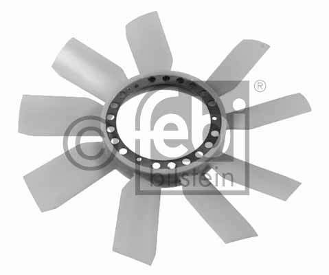 Roue du souffleur, refroidissement  du moteur - FEBI BILSTEIN - 22781