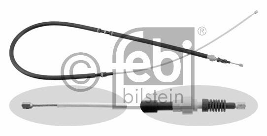 Tirette à câble, frein de stationnement - FEBI BILSTEIN - 22886