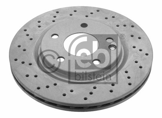 Disque de frein - FEBI BILSTEIN - 22996