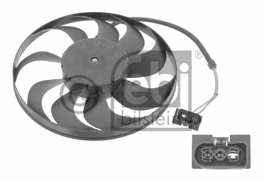 Ventilateur, refroidissement du moteur - FEBI BILSTEIN - 23532