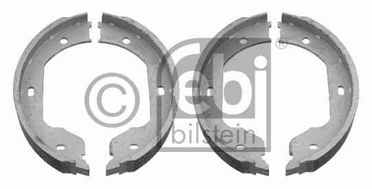 Jeu de mâchoires de frein, frein de stationnement - FEBI BILSTEIN - 23851