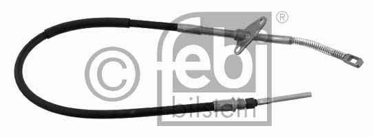 Tirette à câble, frein de stationnement - FEBI BILSTEIN - 23968