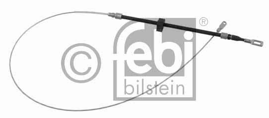 Tirette à câble, frein de stationnement - FEBI BILSTEIN - 23974
