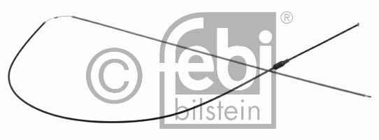 Tirette de capot moteur - FEBI BILSTEIN - 23978
