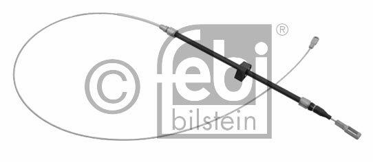 Tirette à câble, frein de stationnement - FEBI BILSTEIN - 24228