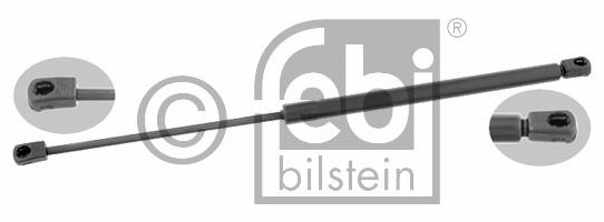 Ressort pneumatique, coffre à bagages/compartiment à bagages - FEBI BILSTEIN - 24327