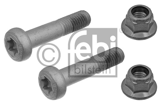 Kit de vis de serrage, suspension articulée/rotule de suspension - FEBI BILSTEIN - 24389
