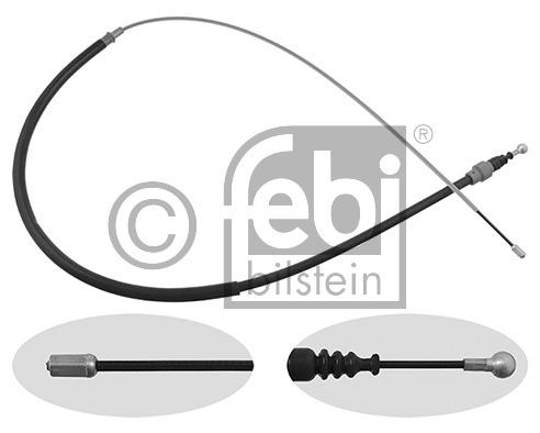 Tirette à câble, frein de stationnement - FEBI BILSTEIN - 24412