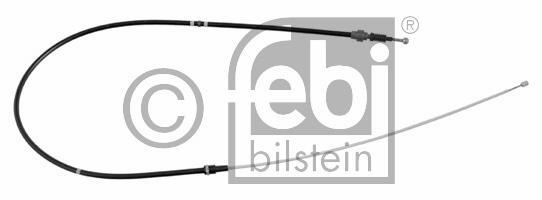 Tirette à câble, frein de stationnement - FEBI BILSTEIN - 24518