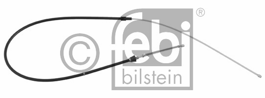 Tirette à câble, frein de stationnement - FEBI BILSTEIN - 24520