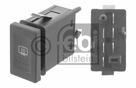 Interrupteur, chauffage de vitre arrière - FEBI BILSTEIN - 24741