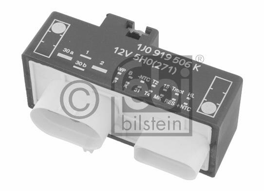 Relais,  chasse du ventilateur de radiateur - FEBI BILSTEIN - 26141