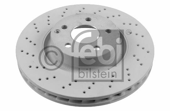 Disque de frein - FEBI BILSTEIN - 26407