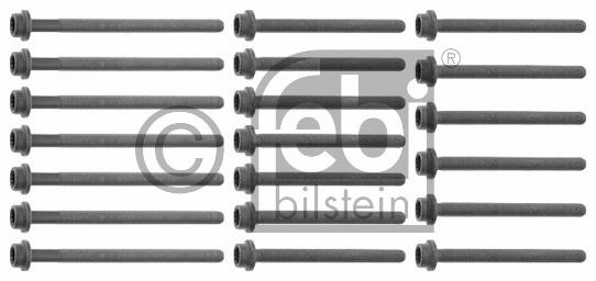 Jeu de boulons de culasse de cylindre - FEBI BILSTEIN - 26436