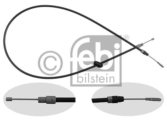 Tirette à câble, frein de stationnement - FEBI BILSTEIN - 26468