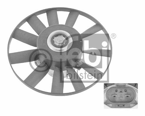 Ventilateur, refroidissement du moteur - FEBI BILSTEIN - 26571