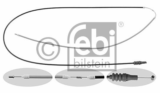 Tirette de capot moteur - FEBI BILSTEIN - 26682