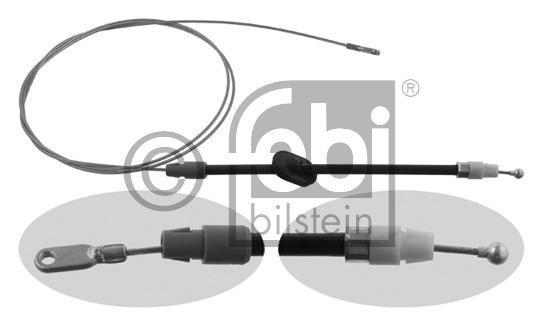 Tirette à câble, frein de stationnement - FEBI BILSTEIN - 26729