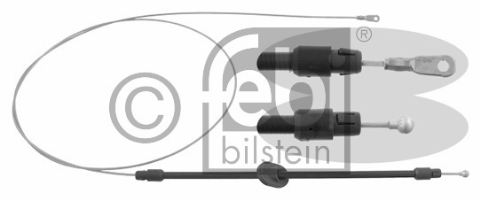 Tirette à câble, frein de stationnement - FEBI BILSTEIN - 26731