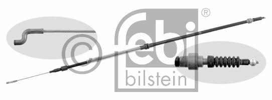 Tirette à câble, frein de stationnement - FEBI BILSTEIN - 27161