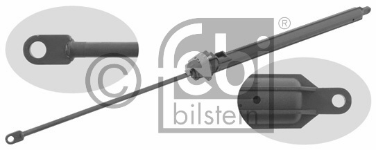 Ressort pneumatique, capot-moteur - FEBI BILSTEIN - 27634