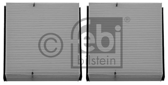 Filtre, air de l'habitacle - FEBI BILSTEIN - 27875