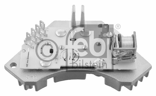 Appareil de commande, chauffage/ventilation - FEBI BILSTEIN - 28311