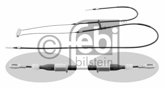 Tirette à câble, frein de stationnement - FEBI BILSTEIN - 29305