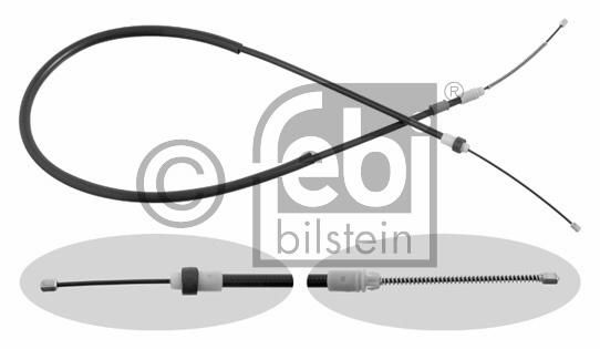 Tirette à câble, frein de stationnement - FEBI BILSTEIN - 29363