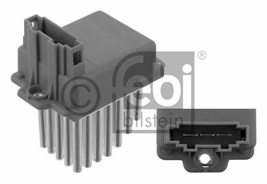 Appareil de commande, chauffage/ventilation - FEBI BILSTEIN - 30601